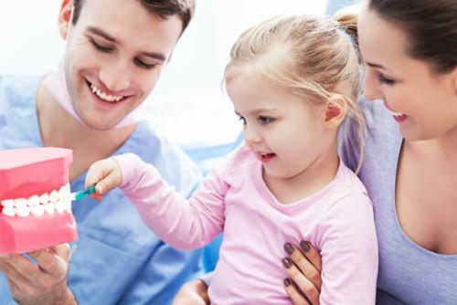 Обучение детей гигиене полости рта
