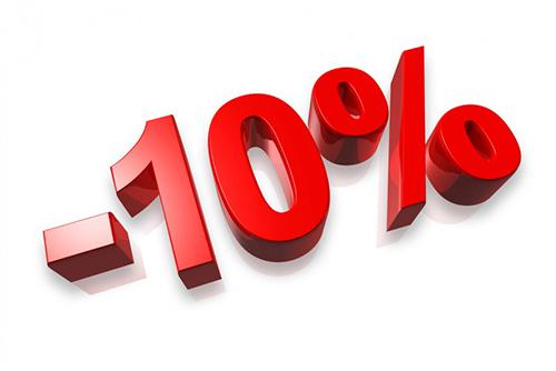 ОТЗЫВ = СКИДКА 10%