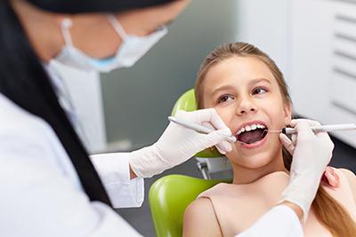 Кариес молочных зубов у детей.