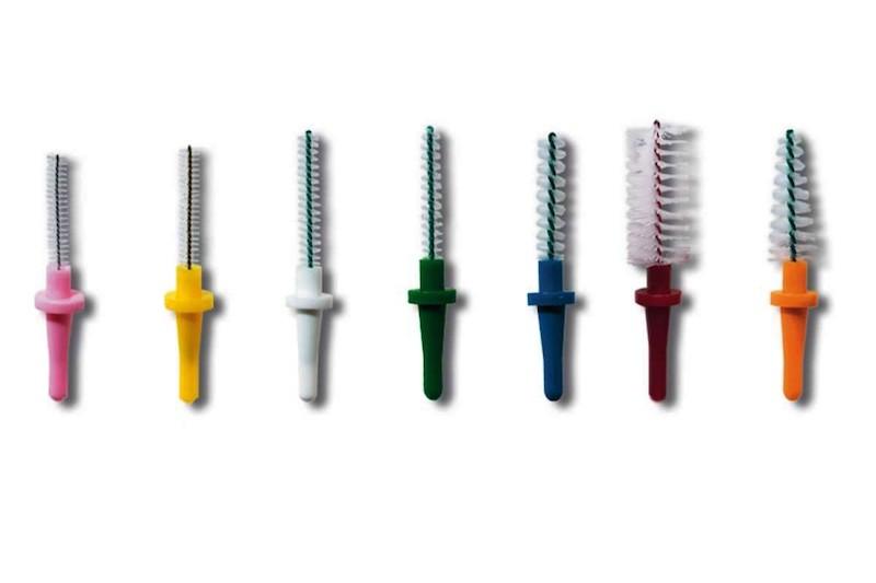 Ортодонтическая зубная щетка для брекетов